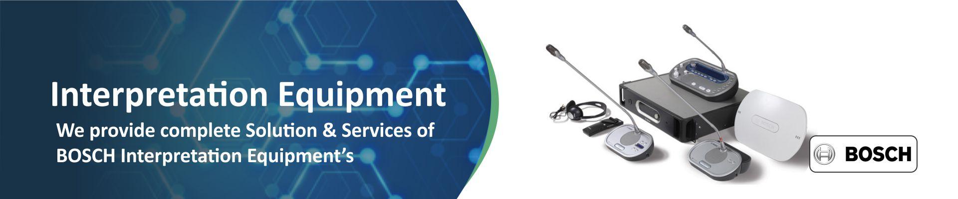 Bosch Interpretation Equipment and Services